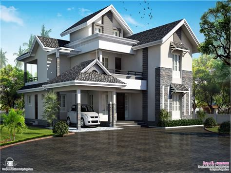 modern house roof designs elegant modern house exterior