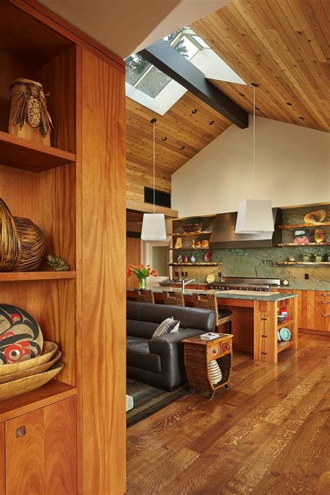 architect nate thomas designs  island home  showcase northwest art  seattle times