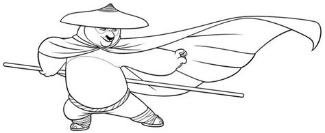Po With A Mask Coloring Pages