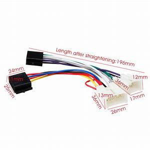 New Iso Wiring Harness Stereo Radio Plug Lead Wire Loom