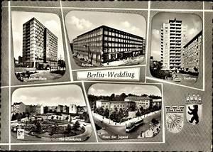 Postleitzahl Berlin Wedding : ansichtskarte postkarte berlin wedding rathaus ernst reuter siedlung ~ Buech-reservation.com Haus und Dekorationen