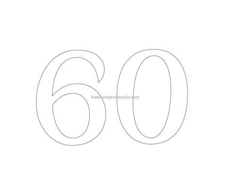 retro  number stencil freenumberstencilscom