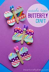 Butterfly craft for teens