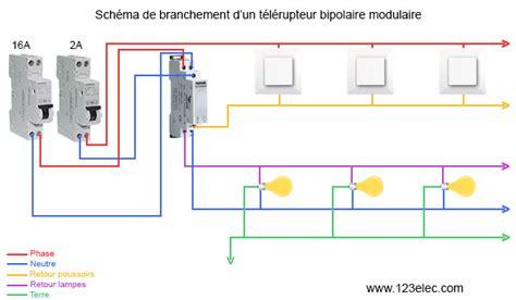 Schema Cablage Telerupteur Schneider Tl'clic