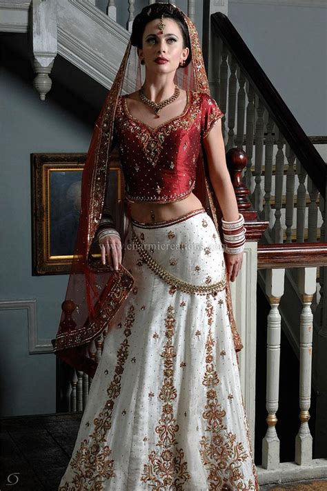 Indian Bridal Wear Asian Wedding Outfits Indian Wedding Dresses Bridal Lenghas u0026 Lengha Choli ...