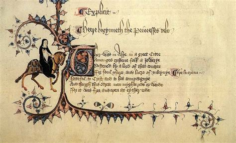 from the canterbury tales quot prologue quot