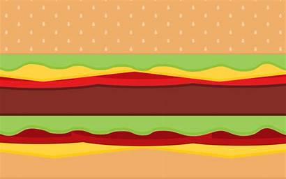 Burger Hamburger Wallpapers Burgers Desktop Vector Bobs