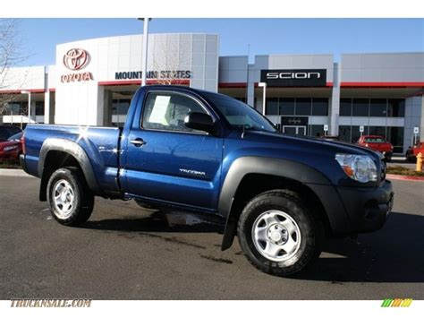 Toyota Tacoma 4x4 Cab For Sale by 2008 Toyota Tacoma Regular Cab 4x4 In Indigo Ink Pearl