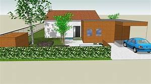 simulation 3d sur google sketchup notre maison ossature With google vue des maisons
