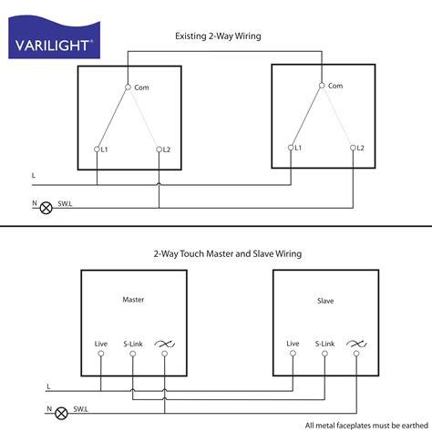 Two Way Dimmer Switch Wiring Diagram Webtor
