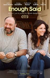 "Movie Review: ""Enough Said"" - Gandolfini. 'Nuff Said.We ..."