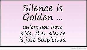 Golden Birthday... Silence Golden Quotes
