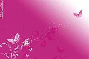 Pink Butterflies Backgrounds - Twitter & Myspace Backgrounds