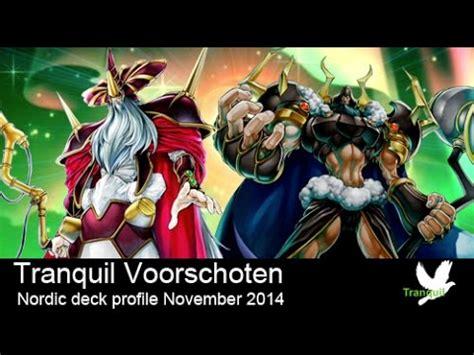 yugioh nordic deck 2014 yugioh deck profile nordisch german doovi