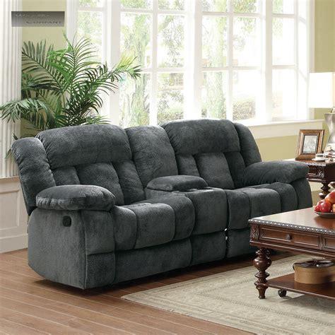 gray reclining sofa and loveseat new grey rocker glider double recliner loveseat lazy sofa