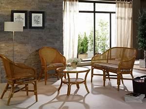 Salon En Rotin : fauteuil cann en rotin brin d 39 ouest ~ Teatrodelosmanantiales.com Idées de Décoration