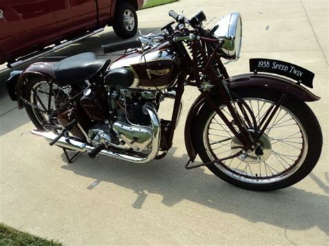 Triumph Speed 1938 by 1938 Speed 5t Triumph Motorcycle