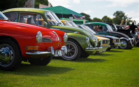 Fancy A Classic Car Show This Summer? Here Are A Few Ideas