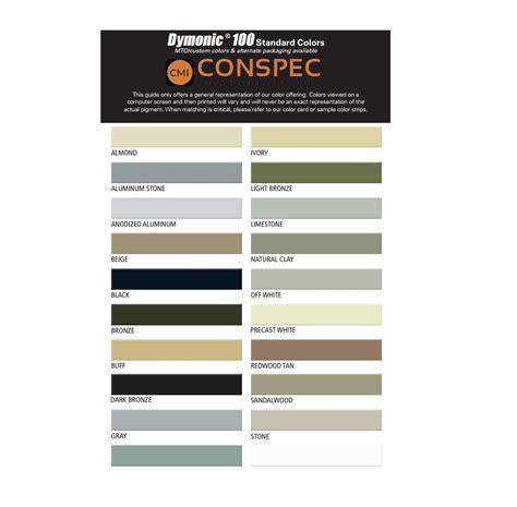 Chart Color Sealant Vulkem