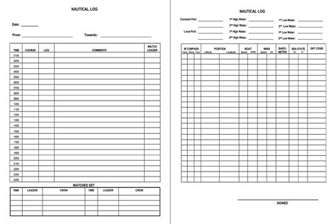 printable log book pages shop fresh