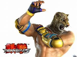Wallpaper Tekken 5, Tekken, King, Tekken 5 - King.