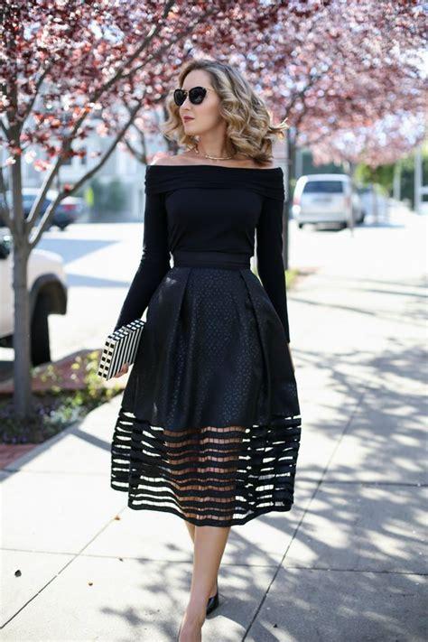 cut  midi skirt    shoulder top memorandum
