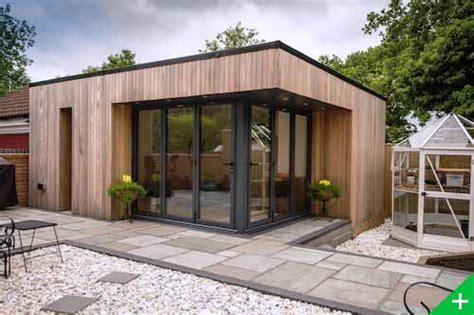 bureau de jardin en bois studio de jardin bois habitable pool house extension maison