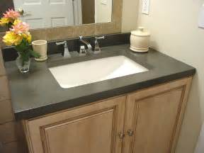 bathroom vanity tops ideas national television features how to build concrete countertops by concrete encounter