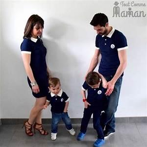 Vetement Assorti Mere Fils : v tement couple assorti et tenue m re fils fille tout comme maman ~ Melissatoandfro.com Idées de Décoration