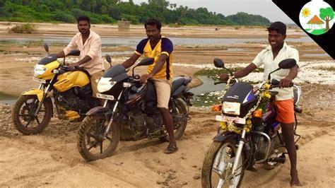 Bike Race In Village / Bike Race Video In Sand / Tvs