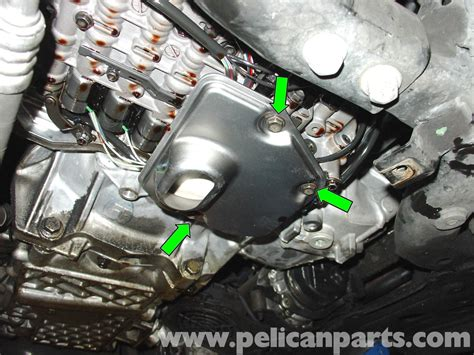 mini cooper automatic transmission fluid change rr