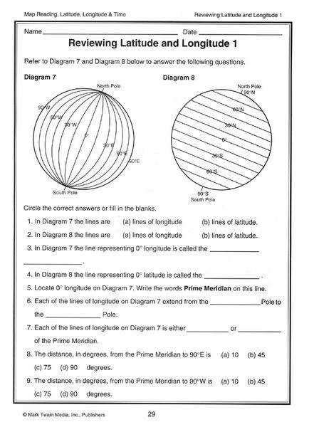 longitude and latitude worksheets homeschooldressage
