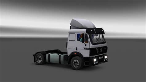mercedes benz sk  ls truck interior euro truck