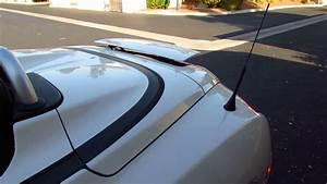 05 Chrysler Crossfire Rear Spoiler Operation
