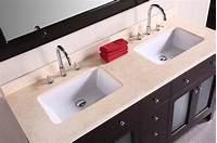 bathroom undermount sinks 48 Inch Double Sink Bathroom Vanity | HomesFeed