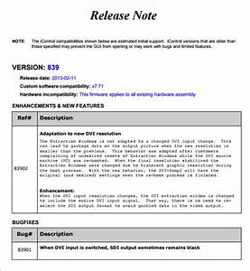 values education sample test With software release notes template doc