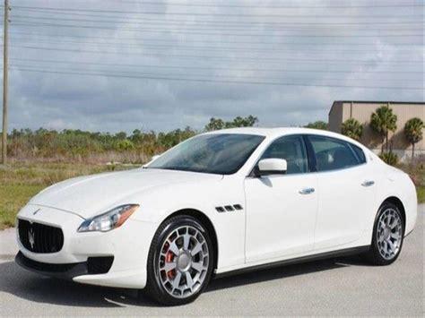 Maserati For Sale In Florida by 2014 Maserati Quattroporte Sale By Owner In Astatula Fl 34705