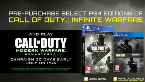modern warfare remastered campaign playable oct   ps