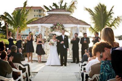 Isla del Sol Yacht & Country Club Wedding Private gazebo