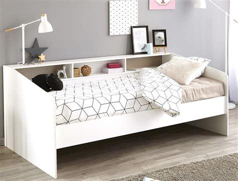 Jugendbett Bett 90x200 Weiß Singlebett Kinderbett