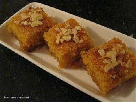 cuisine de choumicha basboussa au yaourt choumicha cuisine marocaine