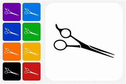 Scissors Vector Hair Clip Professional Icon Haircutting