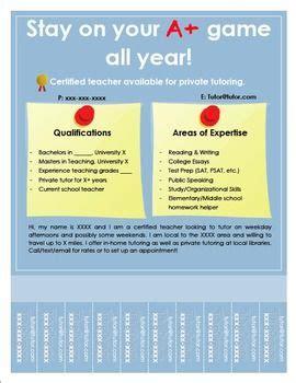 Tutor Flyer Poster | Tutor flyer, Tutoring jobs, Tutoring flyer