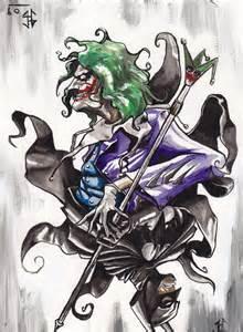 Batman vs Joker Card