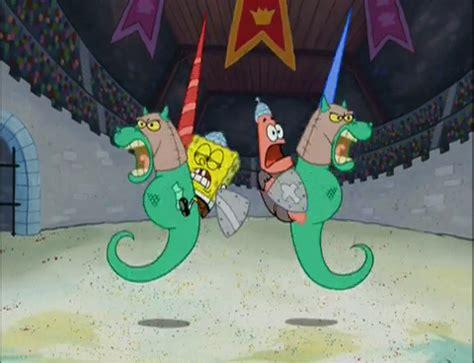 spongebuddy mania spongebob episode dunces  dragons