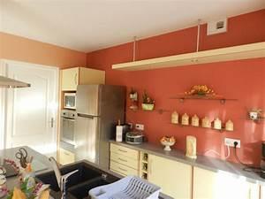 Davausnet decoration cuisine peinture couleur avec for Peinture deco cuisine