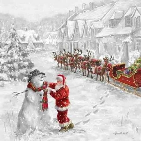 251 Best Images About Santa And His Reindeer On Pinterest  Reindeer, Christmas Eve And Deer