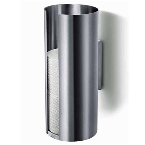 zack tubo spare toilet roll holder stainless steel