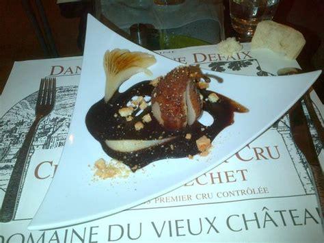 cuisine au vin dessert photo de la cuisine au vin chablis chablis