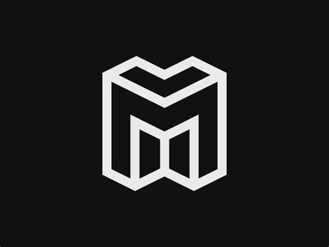 quot m quot logo by cody doherty dribbble